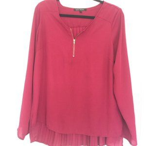 Lynne Ryan Women's Top-plum color